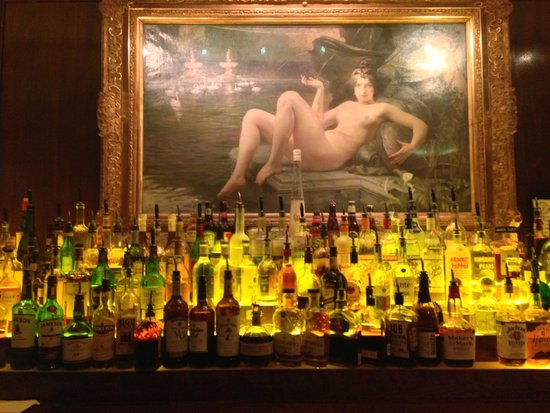 Old Ebbitt Grill: Iconic picture, rear bar, Old Ebbit Grill