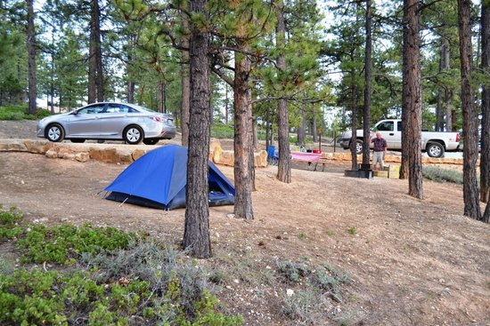 North Campground Bryce Canyon