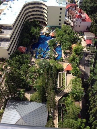 The Royal Paradise Hotel & Spa: View from my room to the poolside