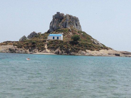 Nefeli Apartments: Vista dalla spiaggia