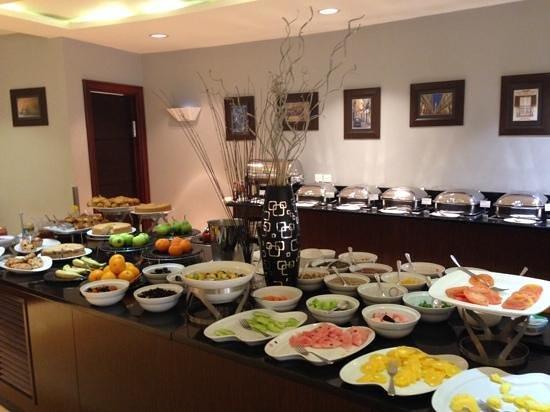 Radisson Blu Hotel Lusaka: Petit déjeuner