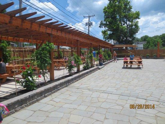 Taino Smokehouse: soon to open patio