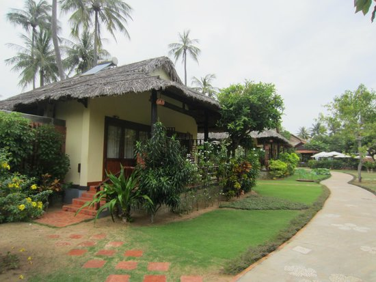 Bao Quynh Bungalow: Территория отеля