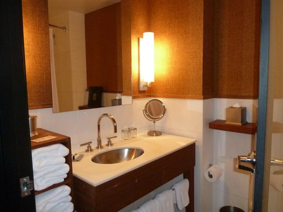 Hotel Valencia Riverwalk : Large with good amenities; strong shower