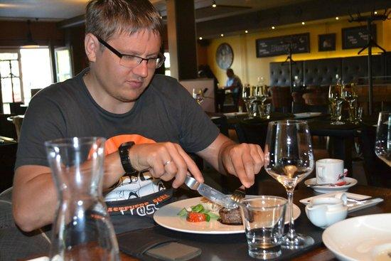 Stefan's Steakhouse : Сейк
