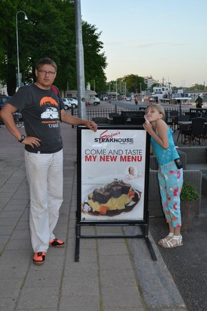 Stefan's Steakhouse : Стенд