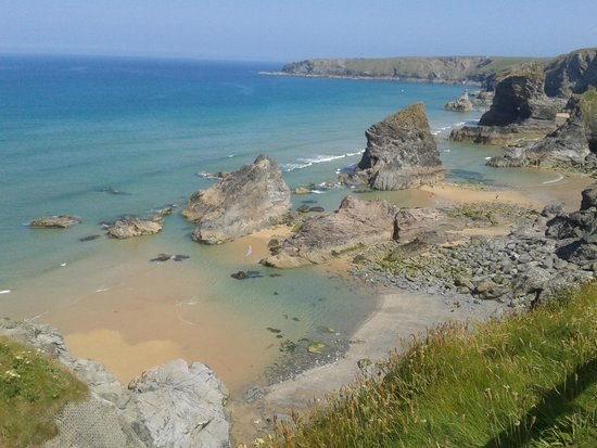 Carnewas and Bedruthan Steps: Stunning View