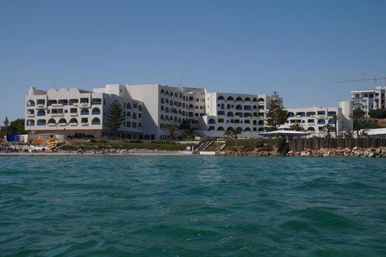 Regency Hotel and Spa : Вид с моря