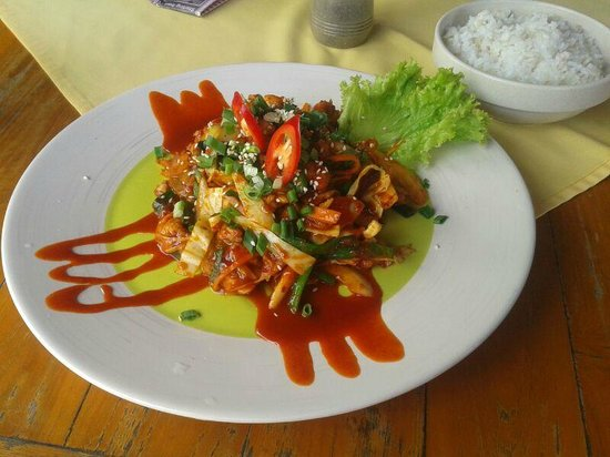 Haroo : Korean chicken dish