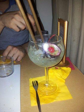 Deep Milano Cafe & Food: Alcolico vodka con frutto della passione