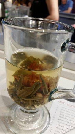 Ekachai Noodle Bar: Jasmine flowering green tea