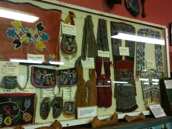 Stephenson Island Logging Museum: Historical Display Related to Native American Culture