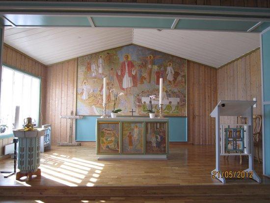 Svalbard Kirke: Alteret