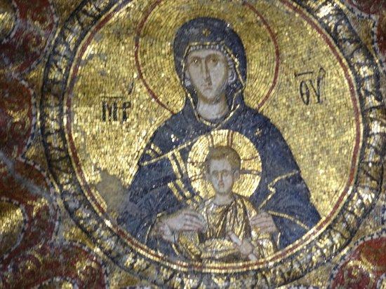 Museum Chora-Kirche: Museu Kariye (Igreja de São Salvador em Chora) - mosaico