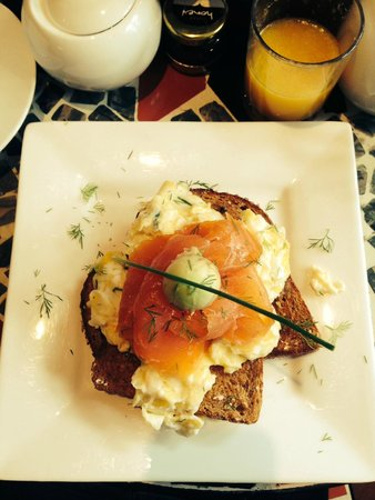 The Griffin Guest House: Another delicious breakfast