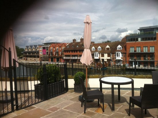 Sir Christopher Wren Hotel and Spa: Balcony