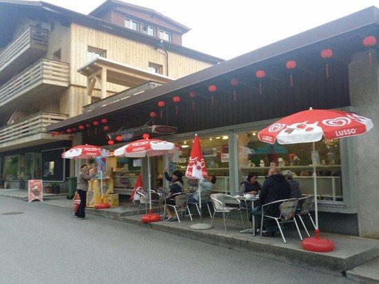 Tham Chinese Restaurant: Tham restaurant at Murren