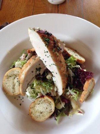 The Birch at Woburn: marinated chicken breast salad