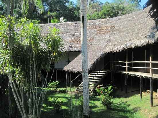 Amazon Explorama Lodges: A building with rooms