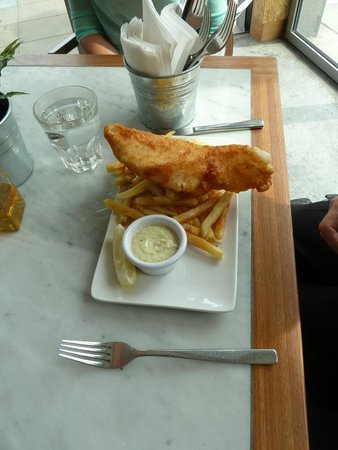 Ivans Oyster Bar & Grill: Fish & Chips
