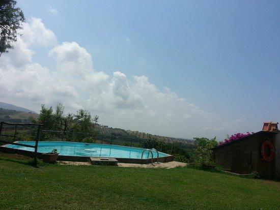 SS.Annunziata II: La piscina e il meraviglioso panorama