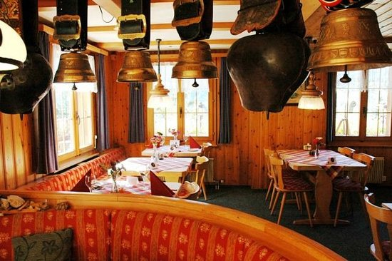Hotel Alpenhof Grindelwald: Restaurant