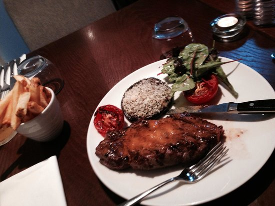 Kingswood Bar & Restaurant : Beautiful steak