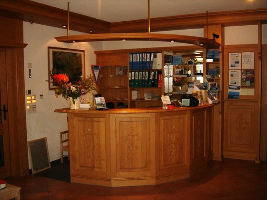 Hotel Alpenhof Grindelwald: Hotelhalle