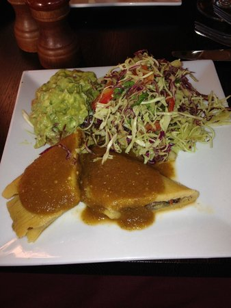Stanford Inn by the Sea: tamales