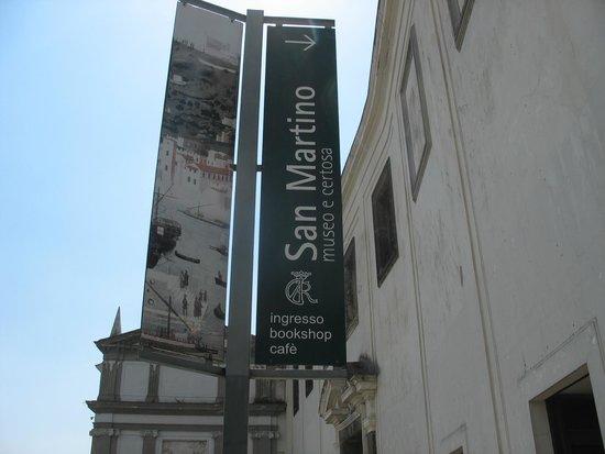 Certosa e Museo di San Martino : L'ingresso alla Certosa