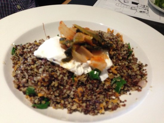 The White Oak Tavern: Sorry the Quinoa came our blurry