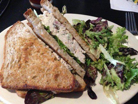 The White Oak Tavern: Chicken salad sandwich