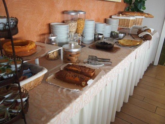 Hotel Liliana : petit déjeuner