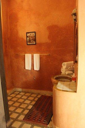 Riad Laila: Bathroom (much bigger - hard to photo!)