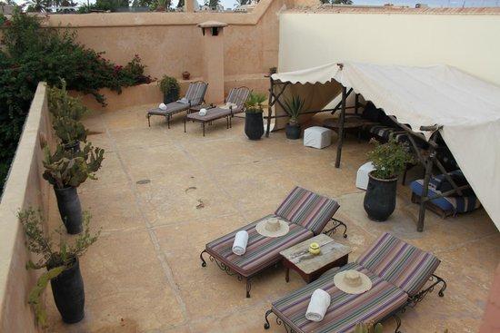Riad Laila: Rooftop Terrace