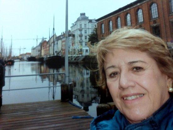 Radisson Blu Scandinavia Hotel, Copenhagen: Eu em um canal de Copenhague......