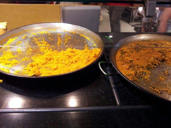 Neco Buffet Mediterraneo: Paella + Paella