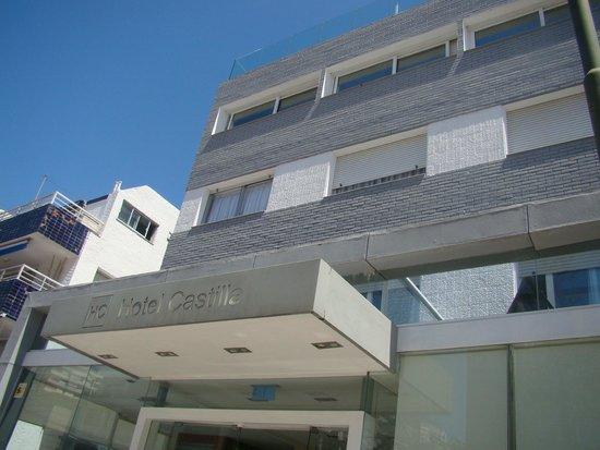 Frente do Hotel Castilla