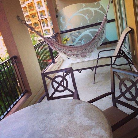 Villa del Palmar Cancun Beach Resort & Spa: Hammock on our porch