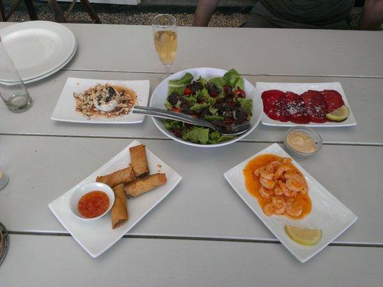 Bramon Wine Estate : pranzo