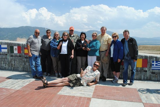 """Butte Urban Safari Tours (B.U.S.T.): The """"group"""" with Mark.  Nicole took the pix."""