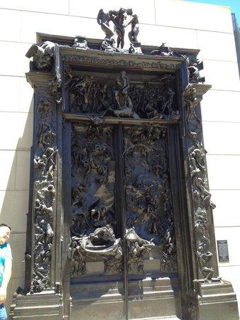 Rodin Sculpture Garden: Gates of Hell