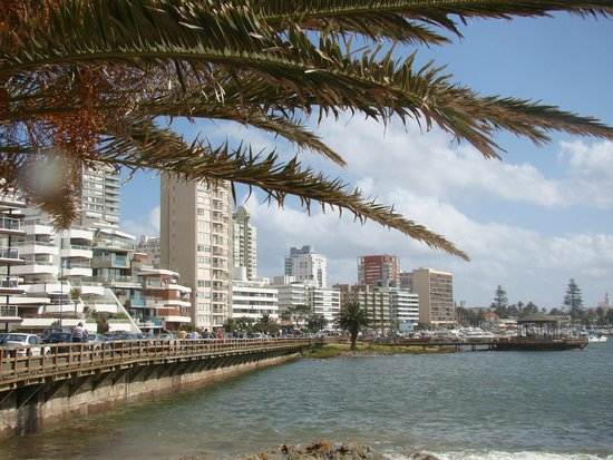 Hotel Castilla: Vista de Punta Del Leste
