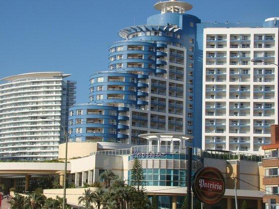Hotel Castilla: Vista do Hotel Conrad