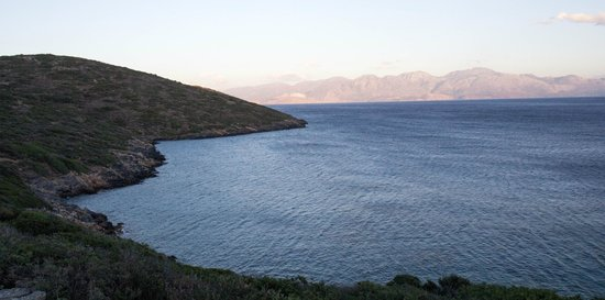 Elounda Island Villas: Picture from the peninsula