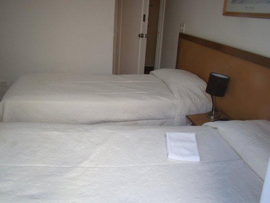 Hotel Castilla: Quarto do hotel