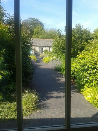 Restormel Manor & Cottages: Hutchings - view from double room!