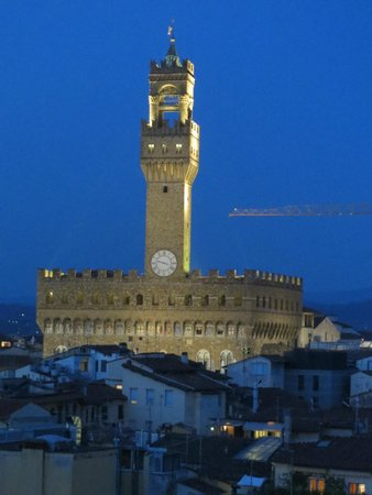Torre Guelfa Hotel: Palazzo Vecchio  from the Torre Guelfa tower