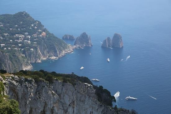 Capri Tiberio Palace: CapriCoast