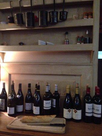 Bistrot des Vignes : Plenty to choose from.